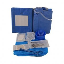 Ophthalmic Surgery Drape Pack